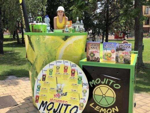 Mojito Lemon koktélok a Kiskőrösi Rónaszéki Fürdőben!